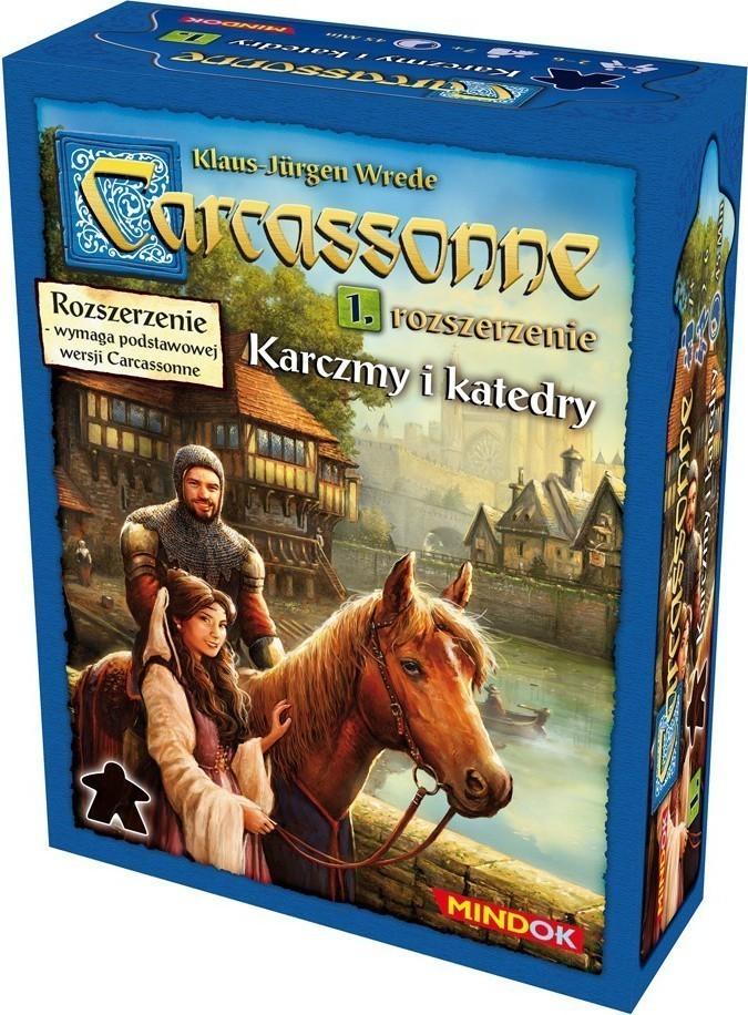 Carcassonne 1. Karczmy i Katedry (druga edycja)