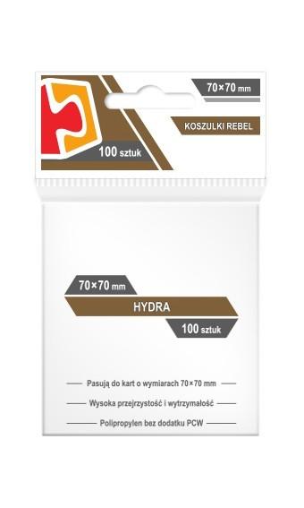 Koszulki Rebel (70x70) Hydra 100 szt
