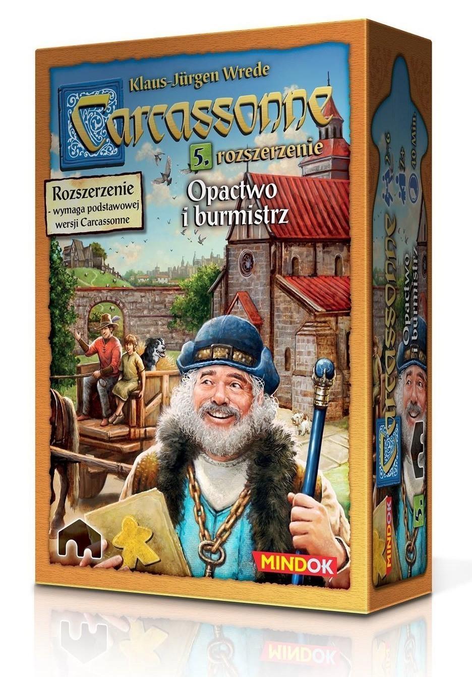Carcassonne 5. Opactwo i Burmistrz (druga edycja)