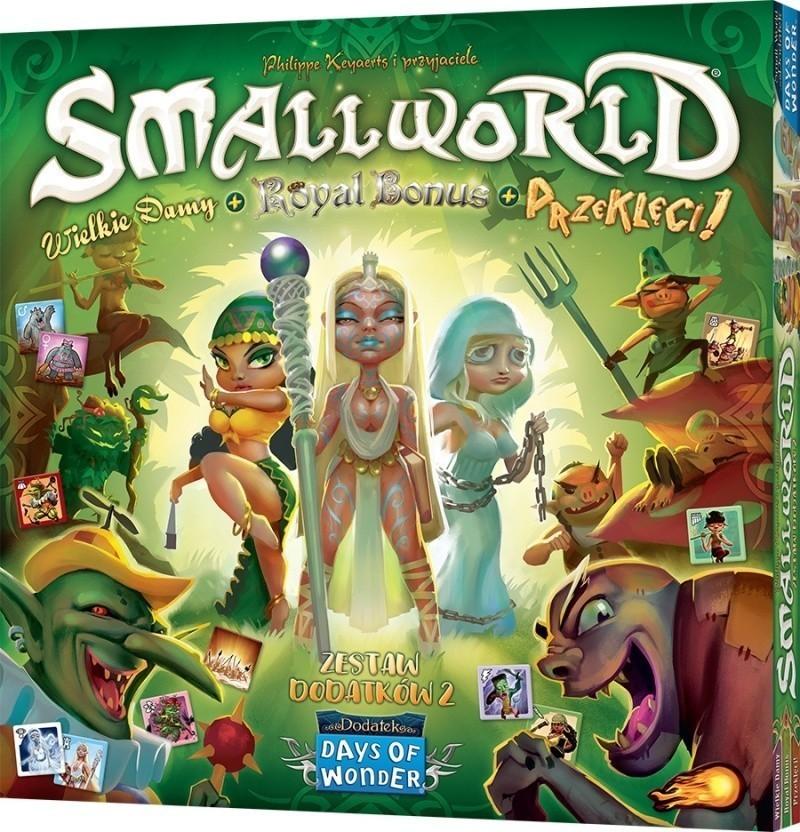 Small World Wielkie damy + Royal Bonus + Przeklęci!