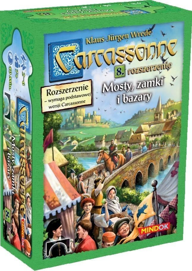 Carcassonne 8. Mosty Zamki i Bazary (edycja 2)