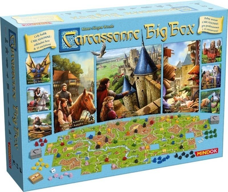 Carcassonne Big Box (uszkodzone opakowanie)