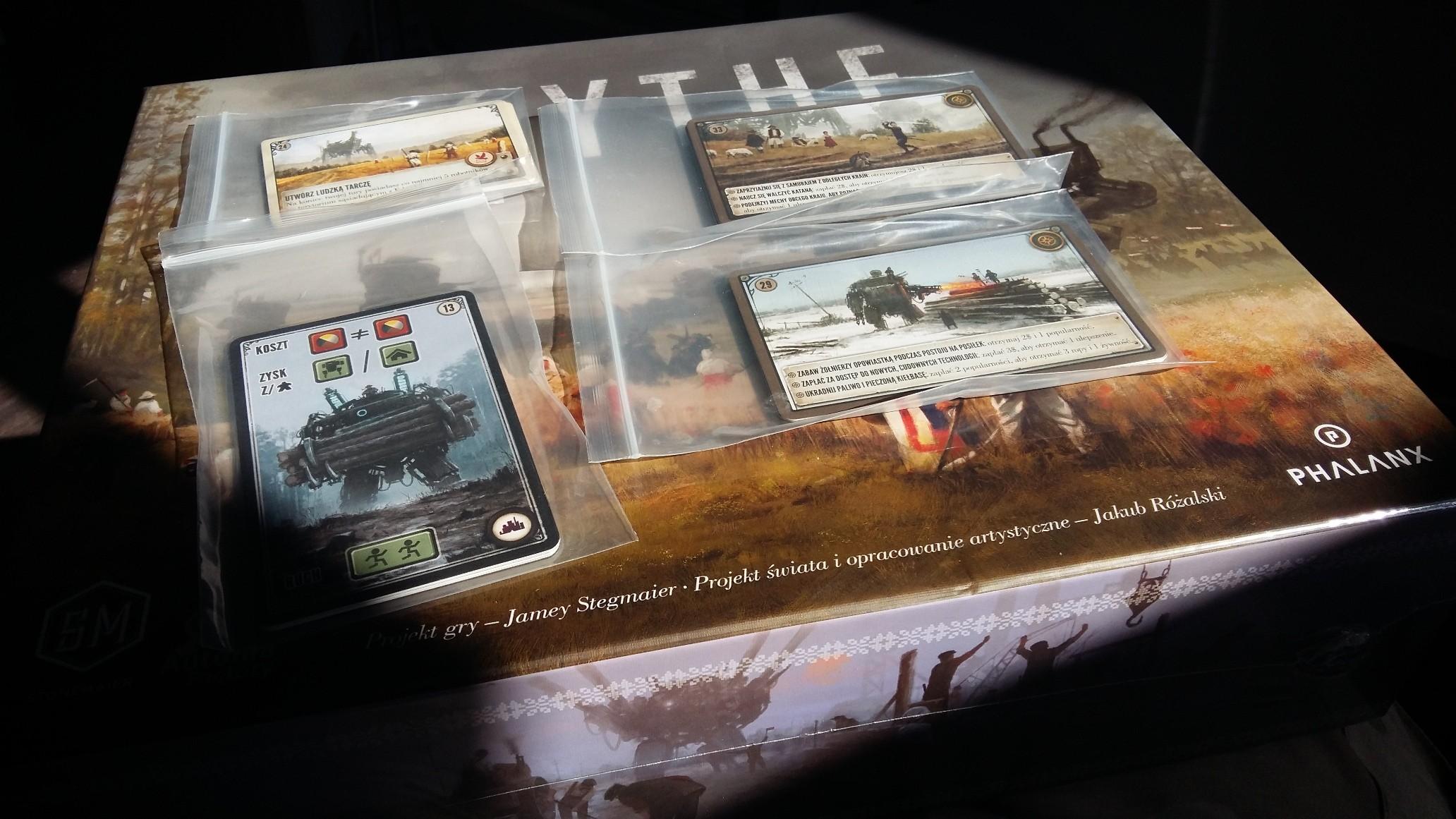 Scythe  zestaw kart promo