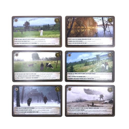Scythe  nowe karty spotkań