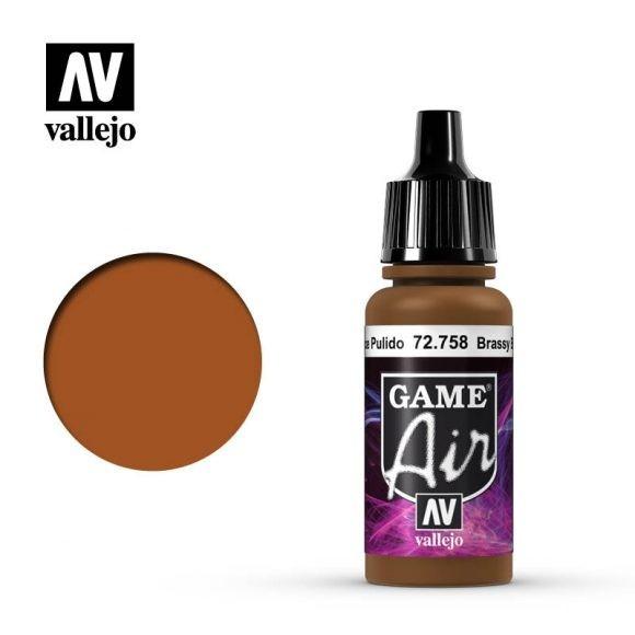 Vallejo Game Air 72.758 Brassy Brass