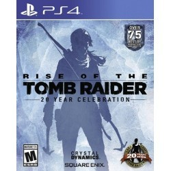 Rise Of The Tomb Raider PL PS4