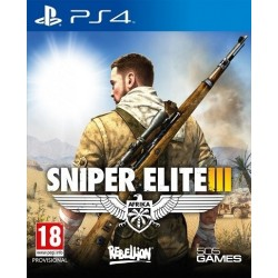 Sniper Elite III PL PS4...
