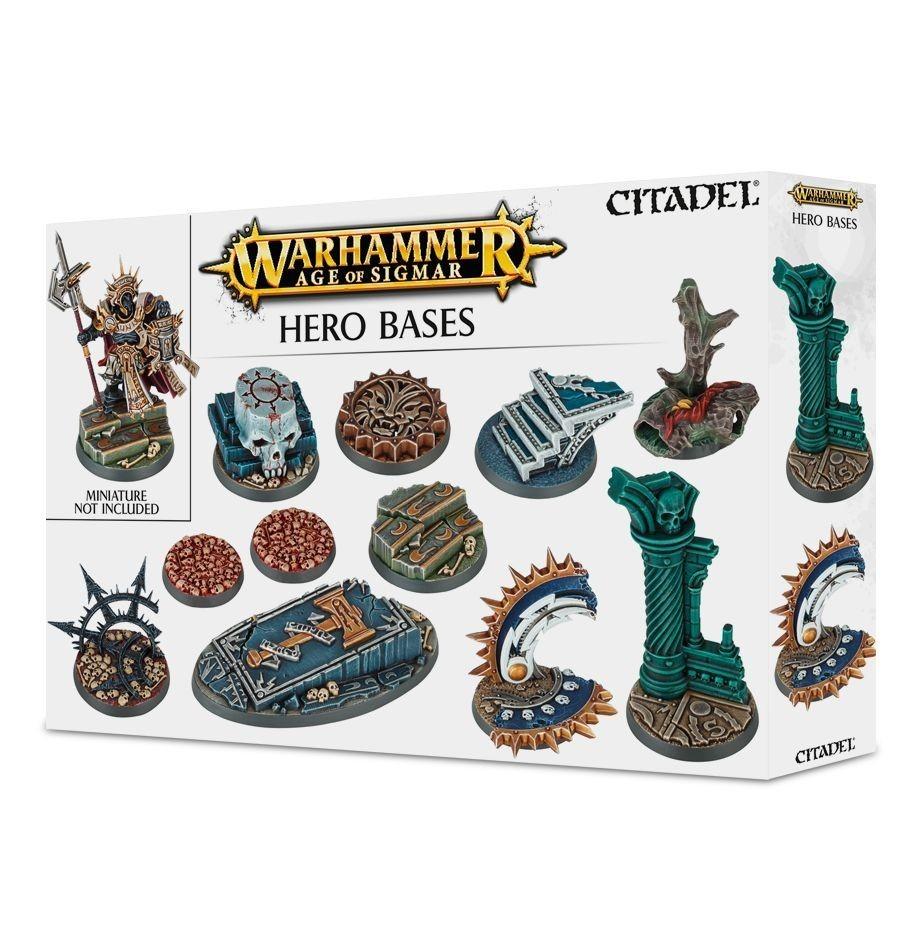 Warhammer Age of Sigmar Hero Bases