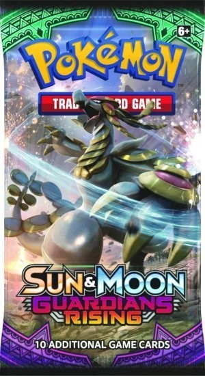 Pokemon TCG: Sun & Moon 2 Guardians Rising Booster