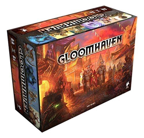 Gloomhaven - 2ga edycja (uszkodzone opakowanie)