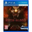 Until Dawn Rush of Blood VR PS4 używana