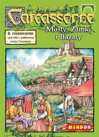 Carcassonne 8. Mosty Zamki i Bazary