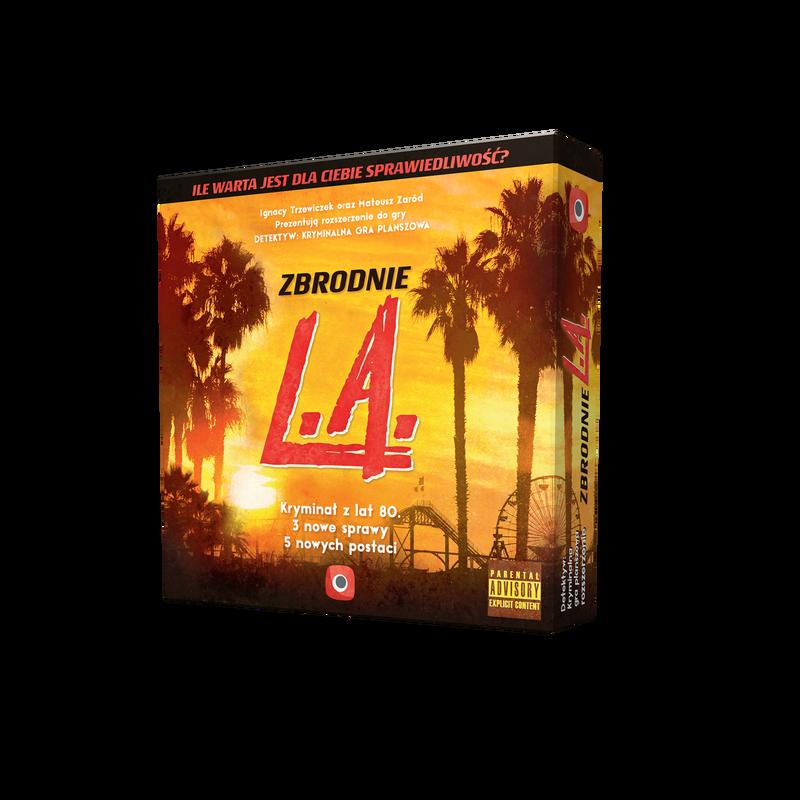 Detektyw: Zbrodnie L.A. (uszkodzone opakowanie)