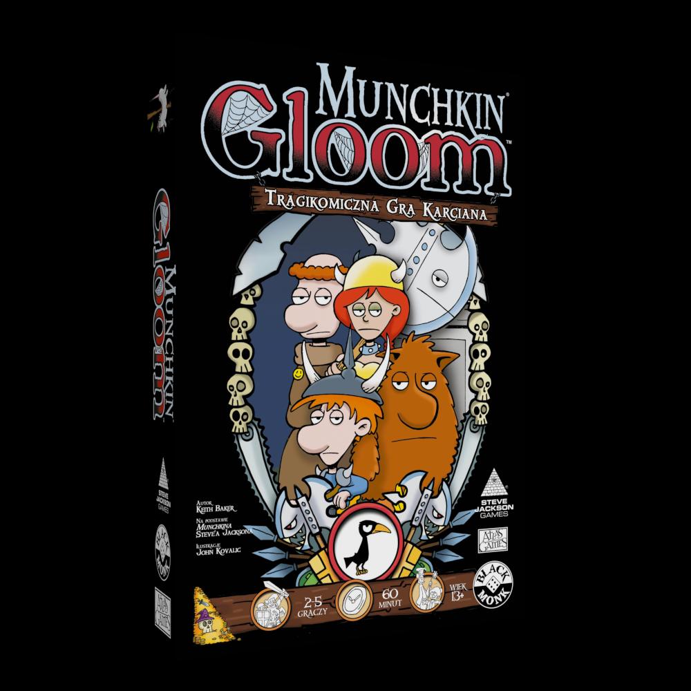 Munchkin Gloom (uszkodzone opakowanie)