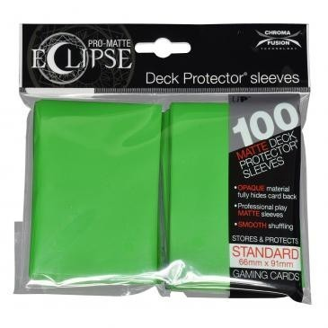Ultra-Pro Koszulki Eclipse Standard 66x91 - Lime Green (100szt)