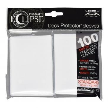 Ultra-Pro Koszulki Eclipse Standard 66x91 - Arctic White (100szt)