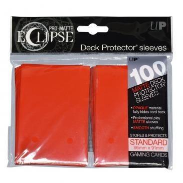 Ultra-Pro Koszulki Eclipse Standard 66x91 - Apple Red (100szt)