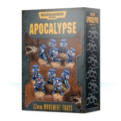 Apocalypse Movement Trays 32mm
