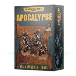 Apocalypse Movement Trays 40mm