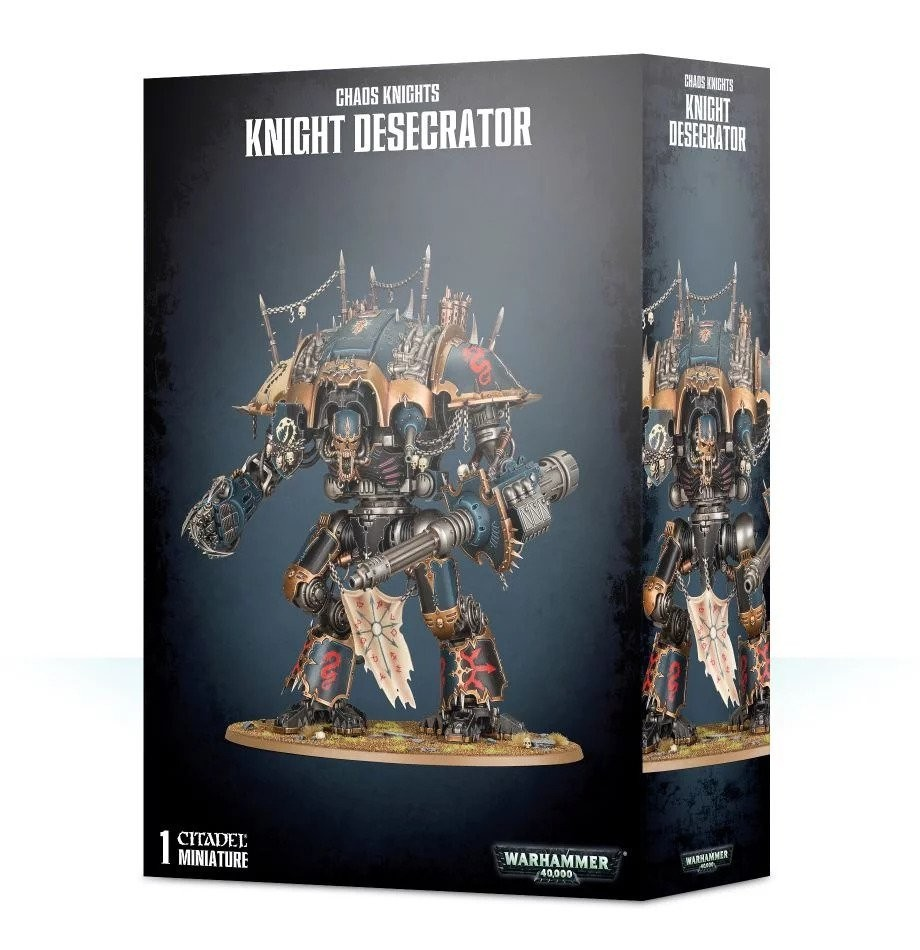 Chaos Knights: Knight Desecrator / Rampager