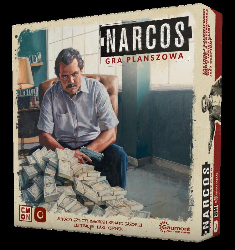 Narcos - gra planszowa