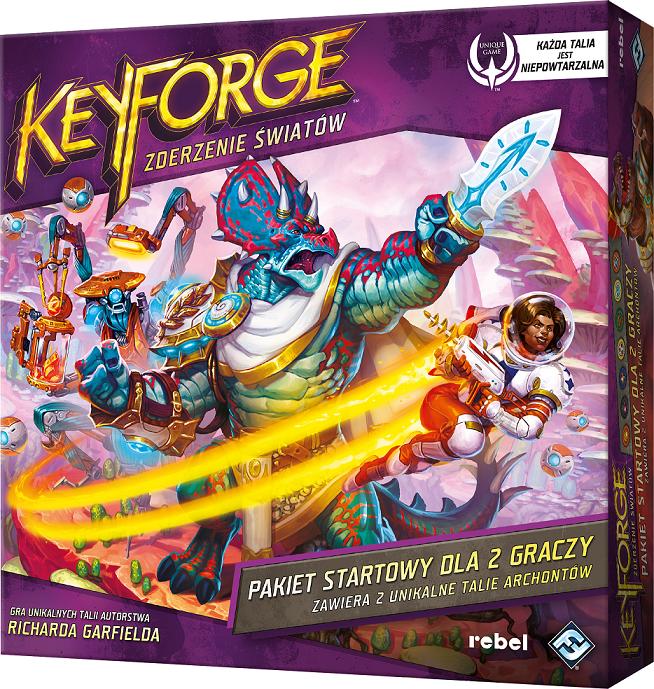 KeyForge: Zderzenie Światów - Pakiet startowy (przedsprzedaż)