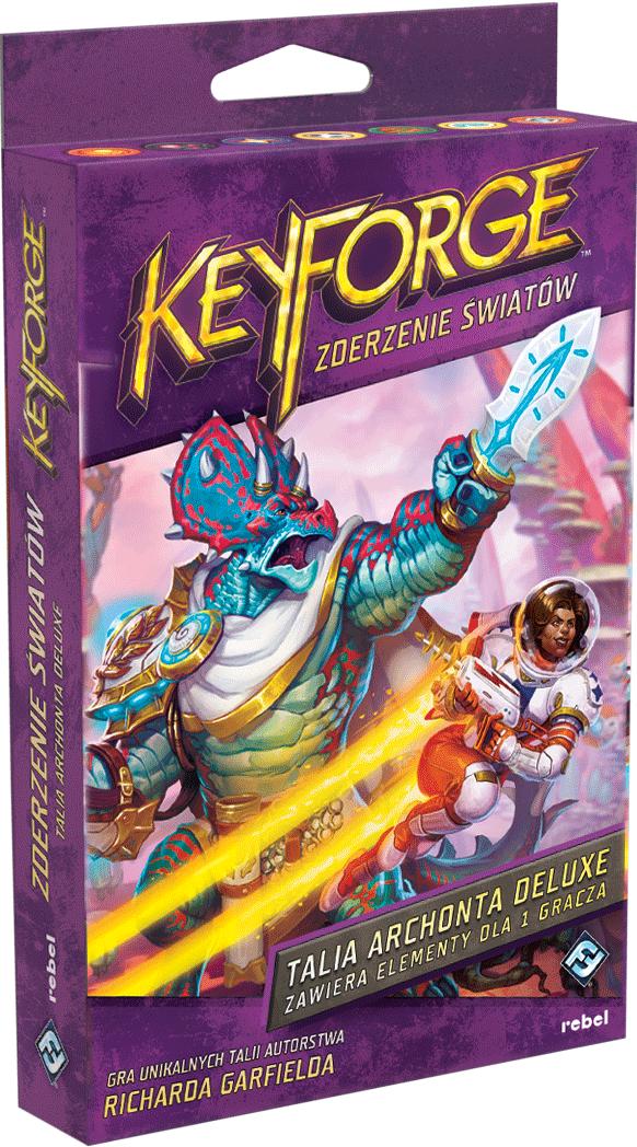 KeyForge: Zderzenie Światów - Talia deluxe (przedsprzedaż)