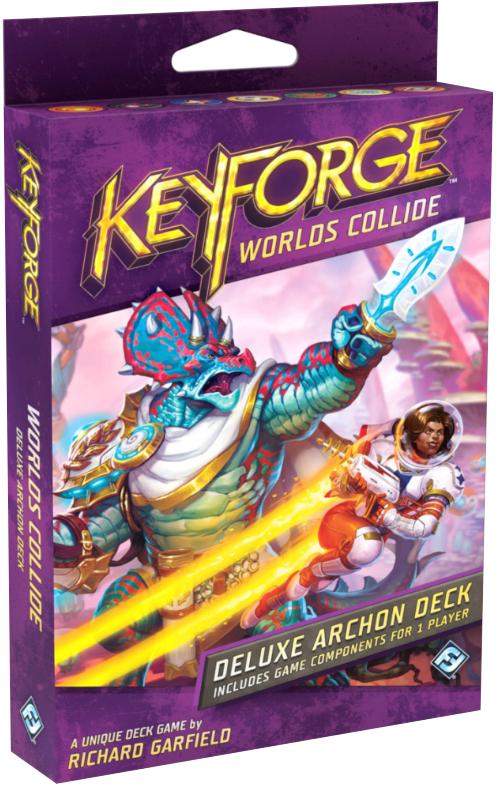 KeyForge: Worlds Collide - Deluxe Archon Deck (przedsprzedaż)