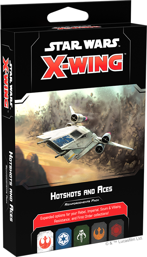 Star Wars X-Wing 2.0 - Hotshots and Aces Reinforcements Pack