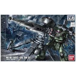 HG 1/144 Zaku II + Big Gun...