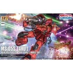 HG 1/144 MS-05S Zaku I...
