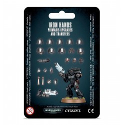 Space Marine Iron Hands...