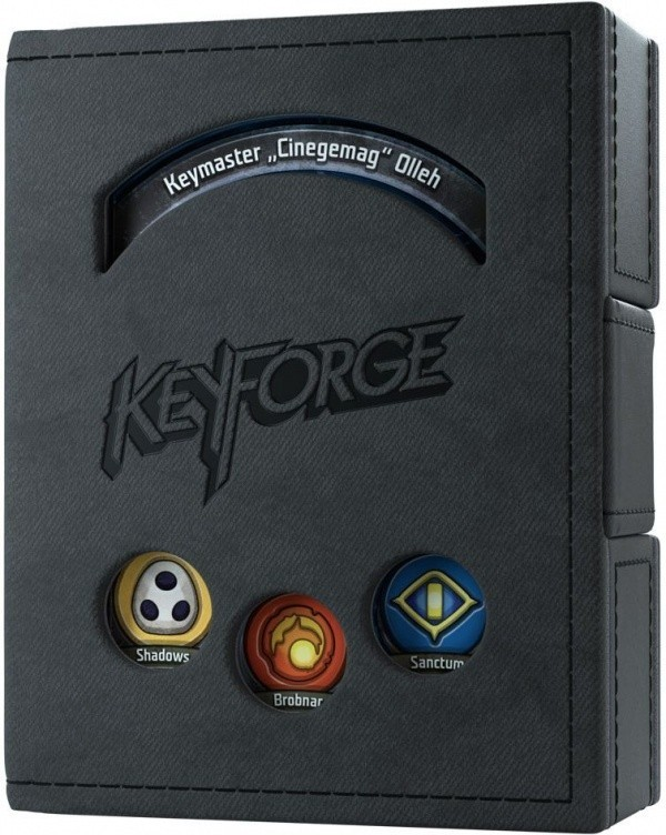 Gamegenic KeyForge Deck Book - Czarny