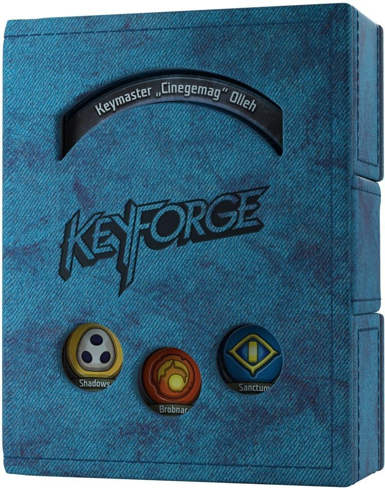 Gamegenic KeyForge Deck Book - Niebieski