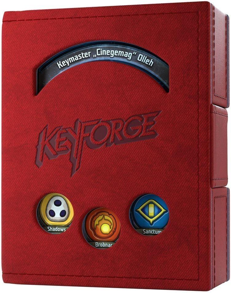 Gamegenic KeyForge Deck Book - Czerwony