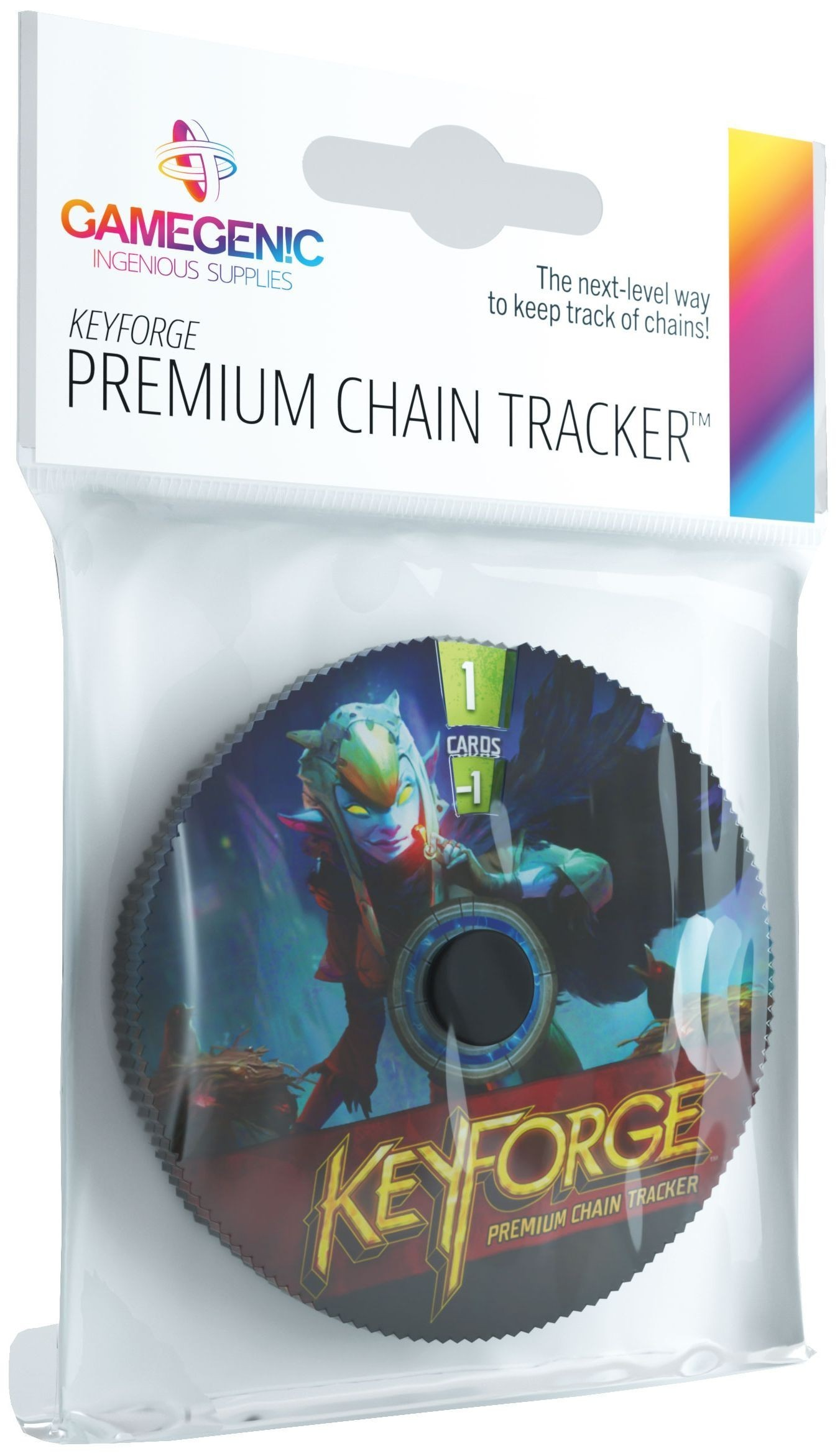 Gamegenic KeyForge Chain Tracker - Shadows