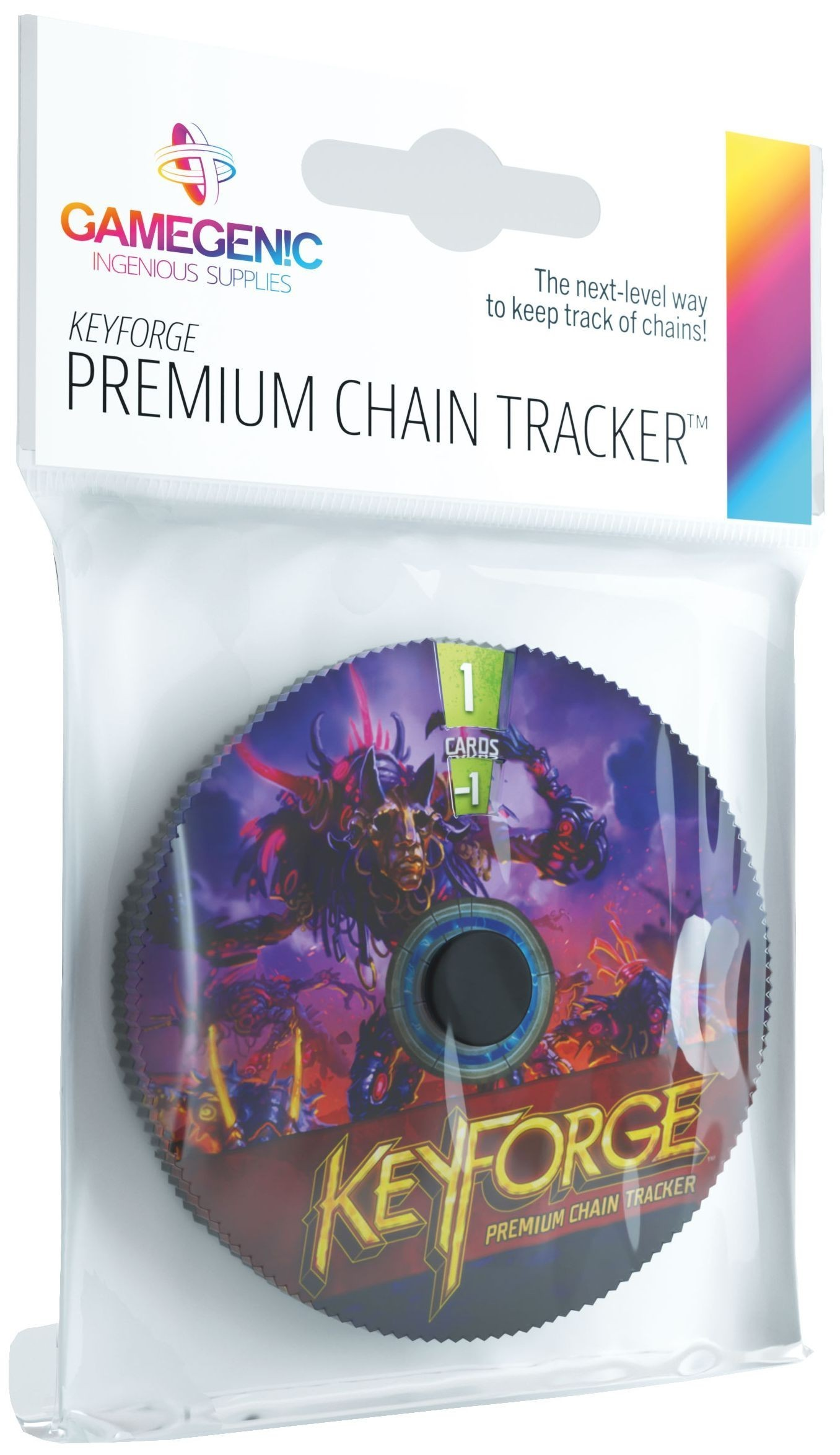 Gamegenic KeyForge Chain Tracker - Dis