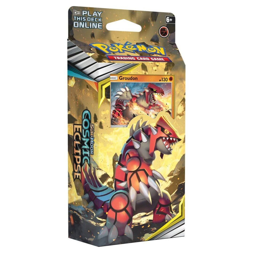 Pokemon TCG: S&M 12 Cosmic Eclipse Theme Deck (Groudon)