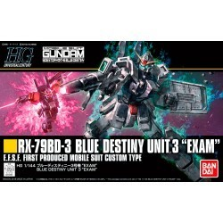 HGUC 1/144 Blue Destiny...