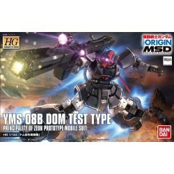 HG 1/144 YMS-08B Dom Test Type