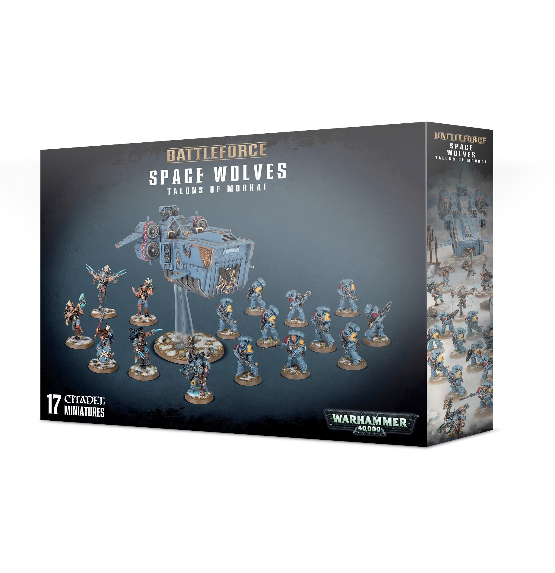 Battleforce Space Wolves: Talons Of Morkai