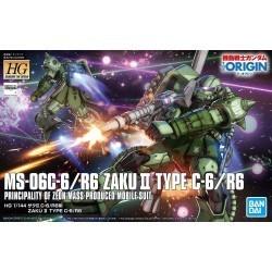 HG 1/144 MS-06C-6/R6 Zaku...
