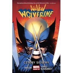 All-New Wolverine. Cztery...