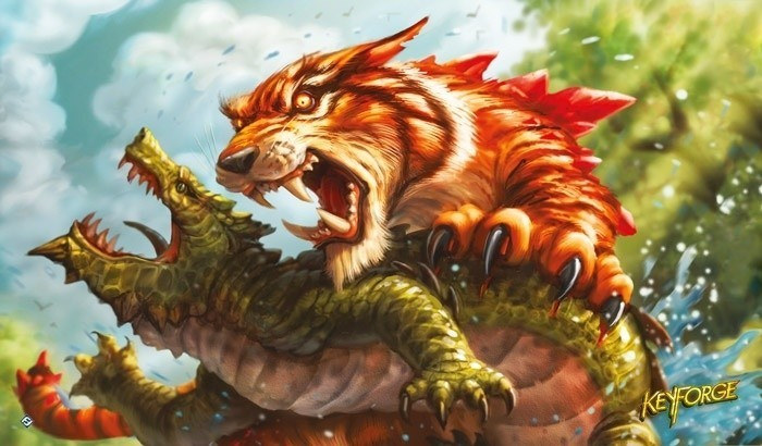 Playmata - Keyforge: Mighty Tiger
