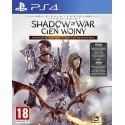 Middle-earth Shadow of War Cień Wojny Definitive Edition PS4