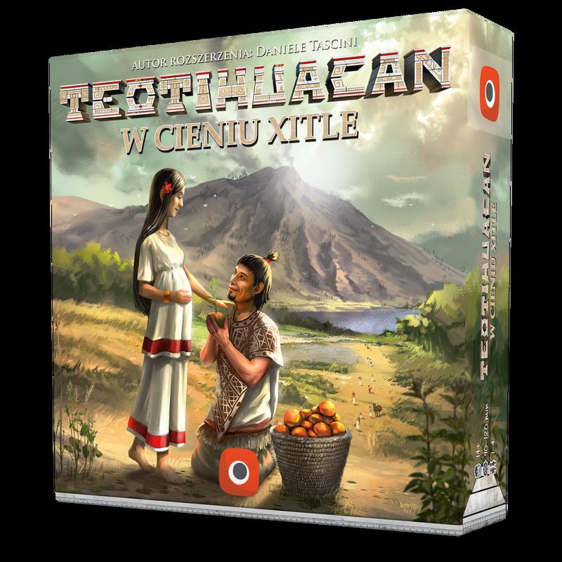 Teotihuacan: W Cieniu Xitle (przedsprzedaż)