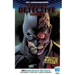 Batman Detective Comics Dwa...