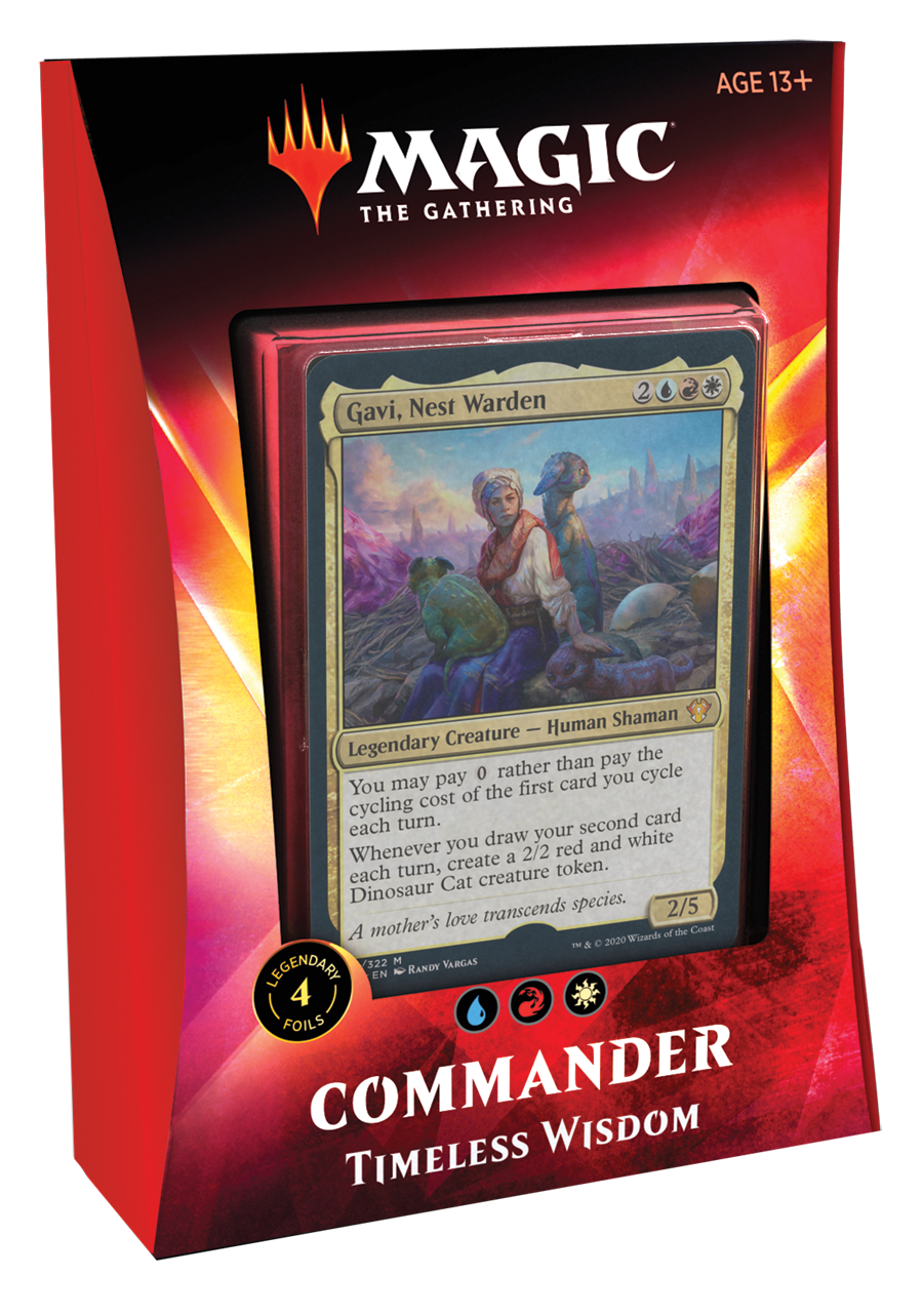 Magic The Gathering Ikoria: Commander Deck (Timeless Wisdom)