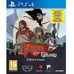 The Banner Saga Trilogy PS4...