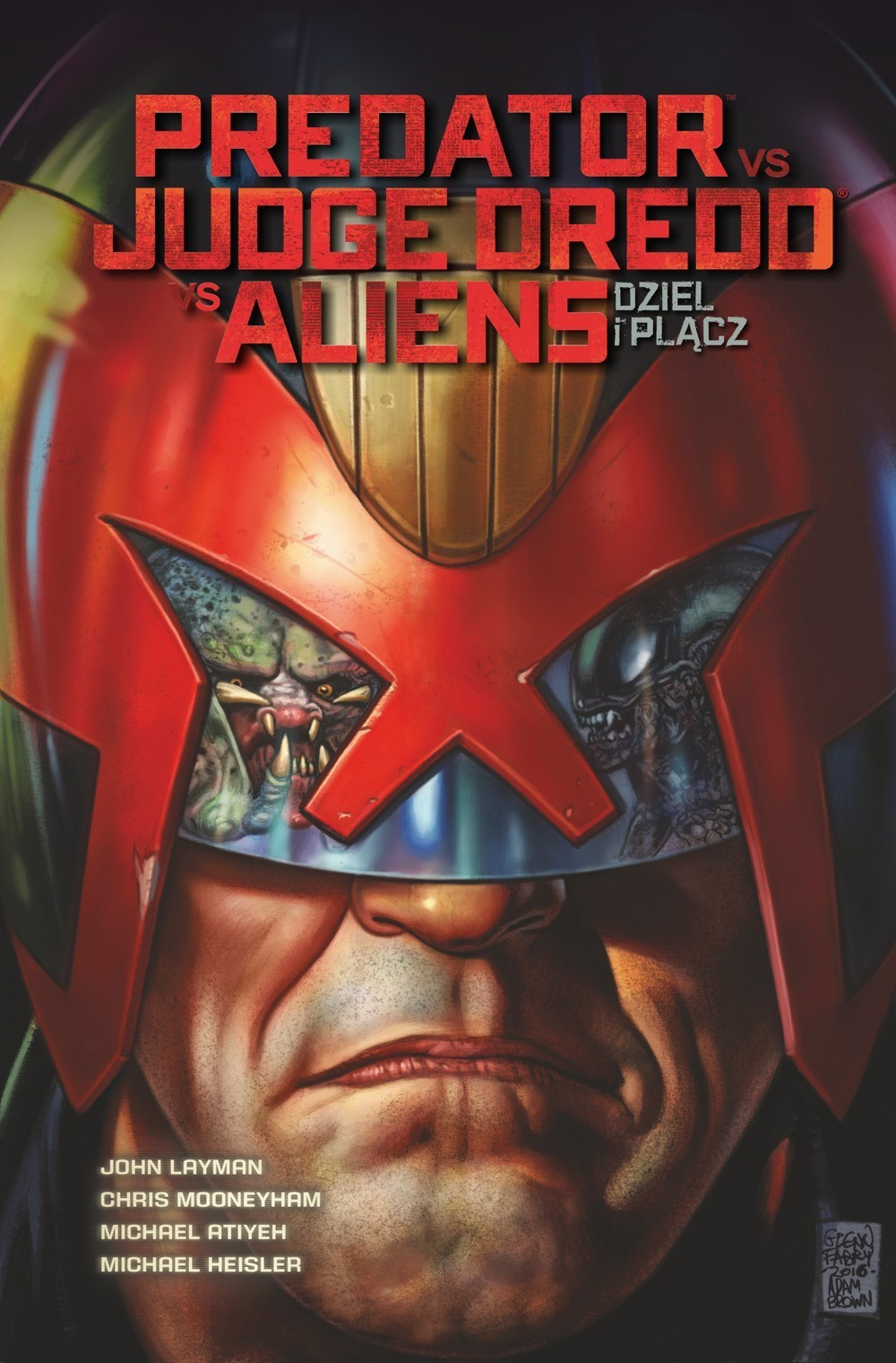Predator vs Judge Dredd vs Aliens - Dziel i Plącz